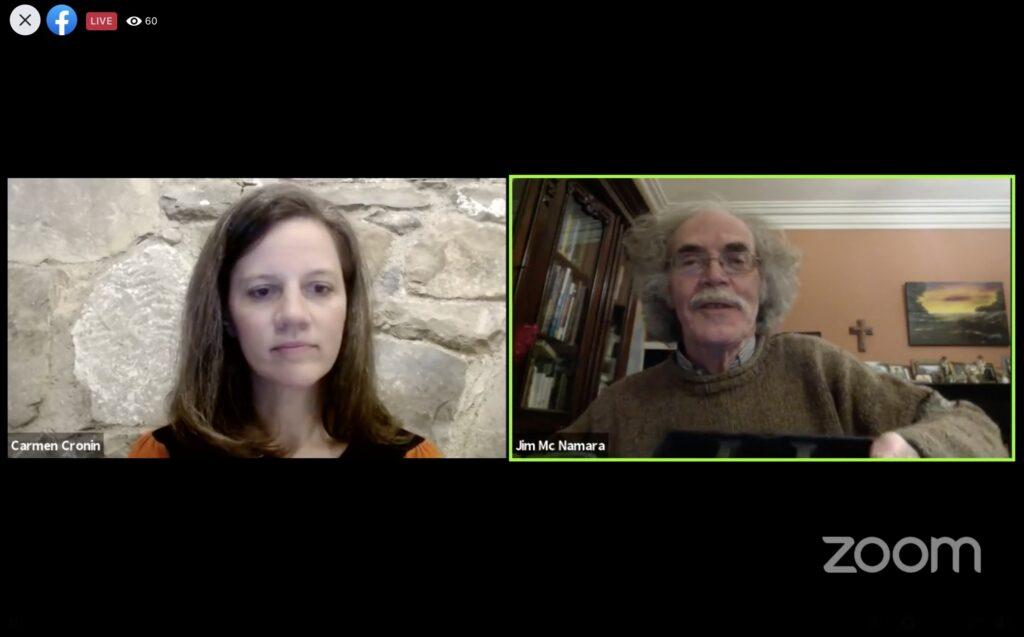 Limerick Garden Festival webinar: Carmen Cronin in conversation with Jim McNamara